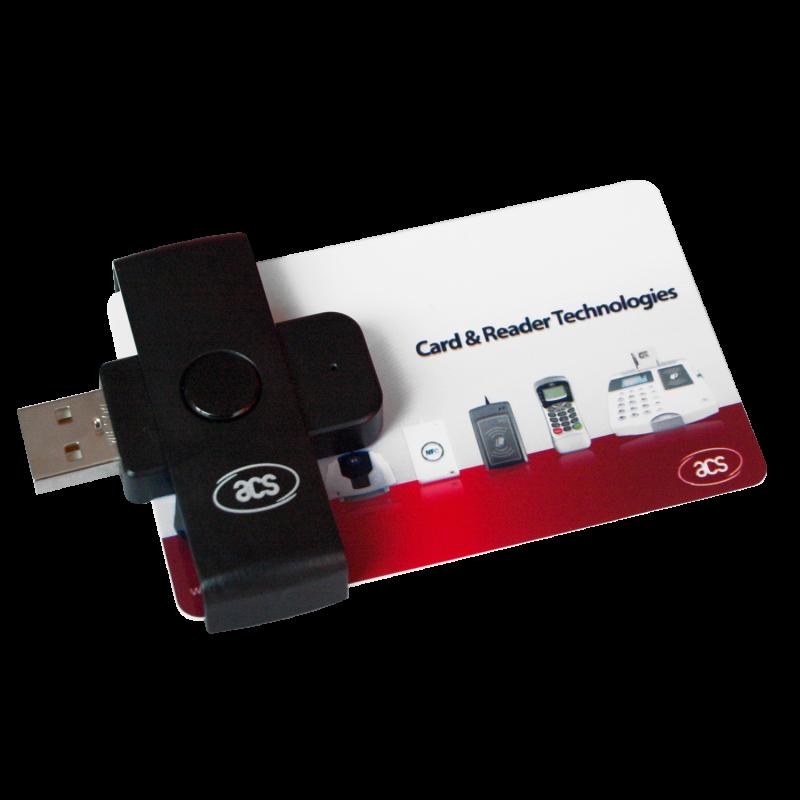 ACR38U PocketMate Cititor inteligent de carduri