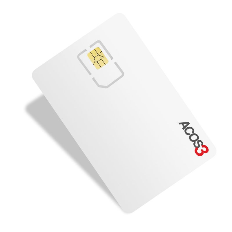 ACOS3 Card cu microprocesor
