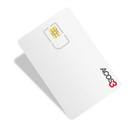 Card cu microprocesor ACOS3