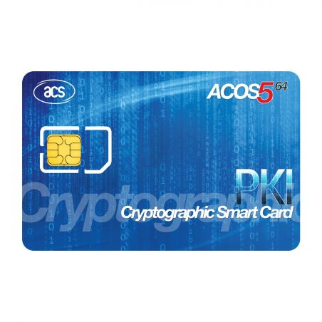 ACOS5 Card contact cryptographic