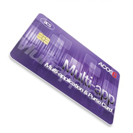 ACOS6 Card contact - multiaplicatie/e-Purse